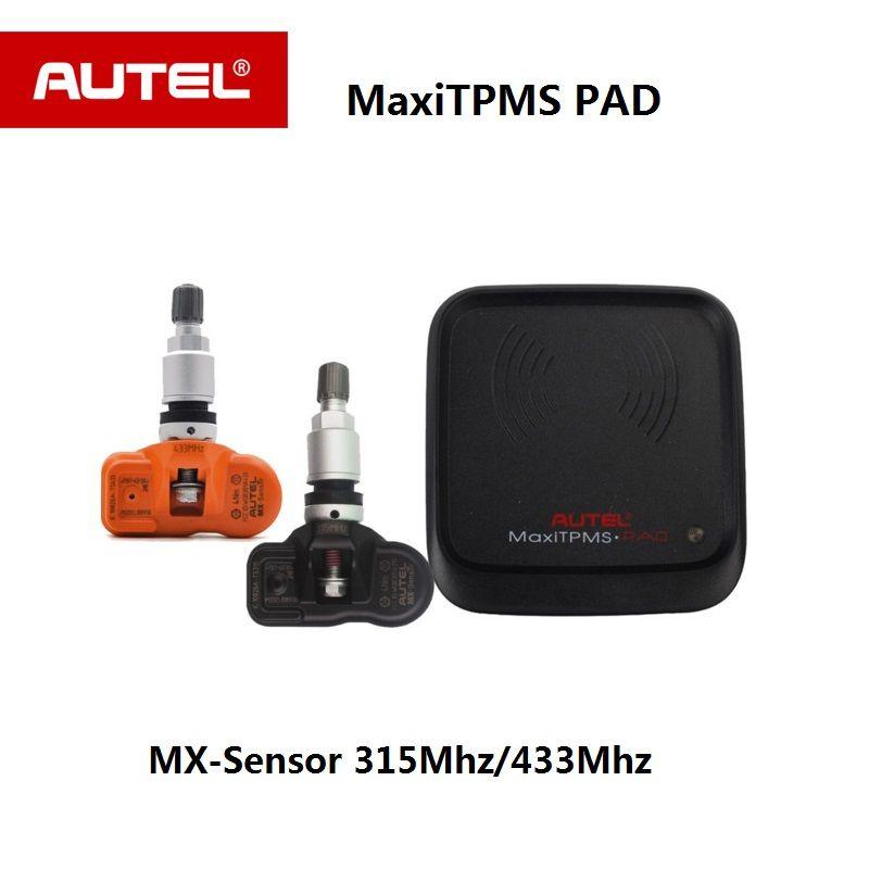Autel MX Sensor 433MHZ 315MHZ autel TPMS Sensor programming MaxiTPMS pad Tire Pressure tester MX-Sensor for autel TS601 TS501