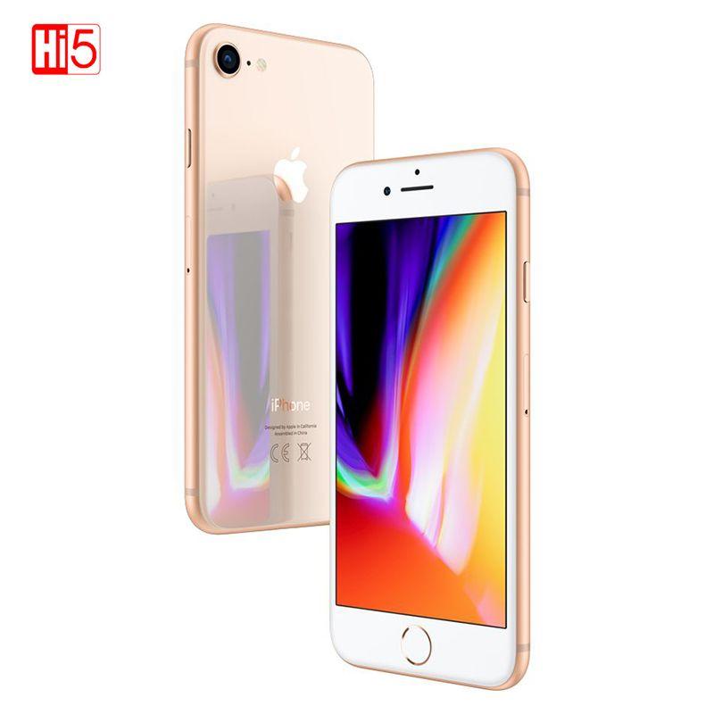 Original Entsperrt Apple iPhone 8 2 GB RAM 64 GB/256 GB ROM Sieht Aus Wie Neue 4,7 zoll Hexa -Core Touch ID LTE 12,0 M Freies Geschenk Telefon
