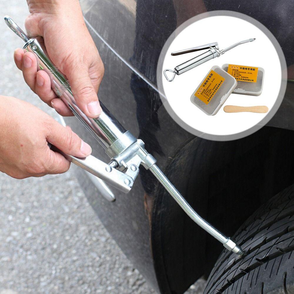 2nd Generation Verbesserte Auto Reifen Reparatur Kit Inneren Reifen Gummi Streifen Notfall Vakuum Reifen Schnelle Reparatur Werkzeug Spiel Lange Streifen füllen