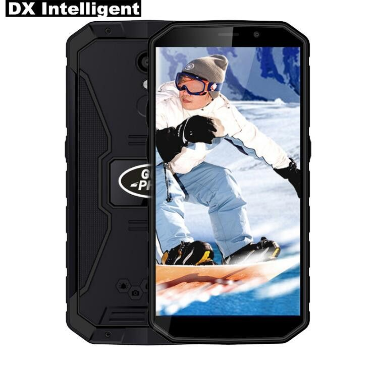 In Stock Land rover XP9800 6500mAh 5.5 Inch HD IP68 Waterproof MTK6739 Quad Core Android 8.1 2GB RAM 16GB ROM GPS Mobile Phone