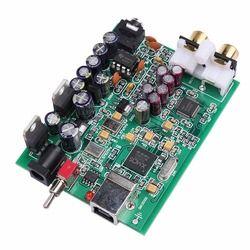 NEW K.GUSS XMOS U8 + AK4490 AMP NE5532 USB DAC Decoder Sound Card Headphone Output Support for PCM 192kHz DC9V, Free shipping