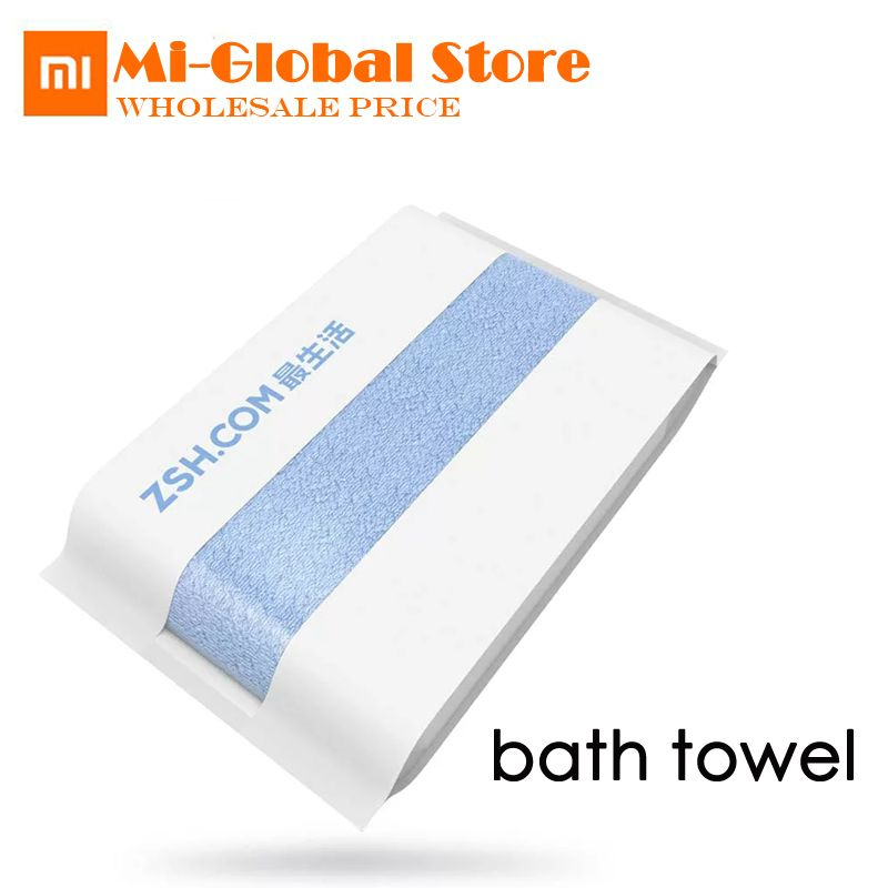 Xiaomi ZSH Bath Towel 580g Antibacterial None-irritative 100% Cotton Towel 1.6S Strong Water Absorption 700mm*1400mm 5 colors