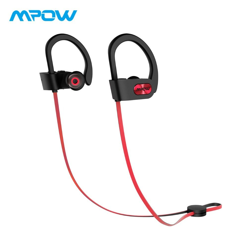 Original Mpow Flame Bluetooth <font><b>Headphones</b></font> HiFi Stereo Wireless Earbuds Waterproof Sport Earphones With Mic/Portable Carrying Case