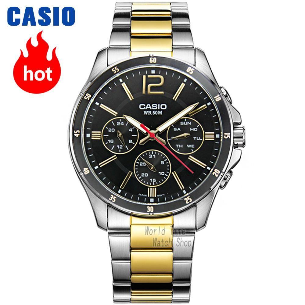 Casio watch men sports waterproof quartz luminous watch MTP-1374D-7A MTP-1374L-7A MTP-1374SG-1A MTP-1374SG-7A MTP-1374D-1A