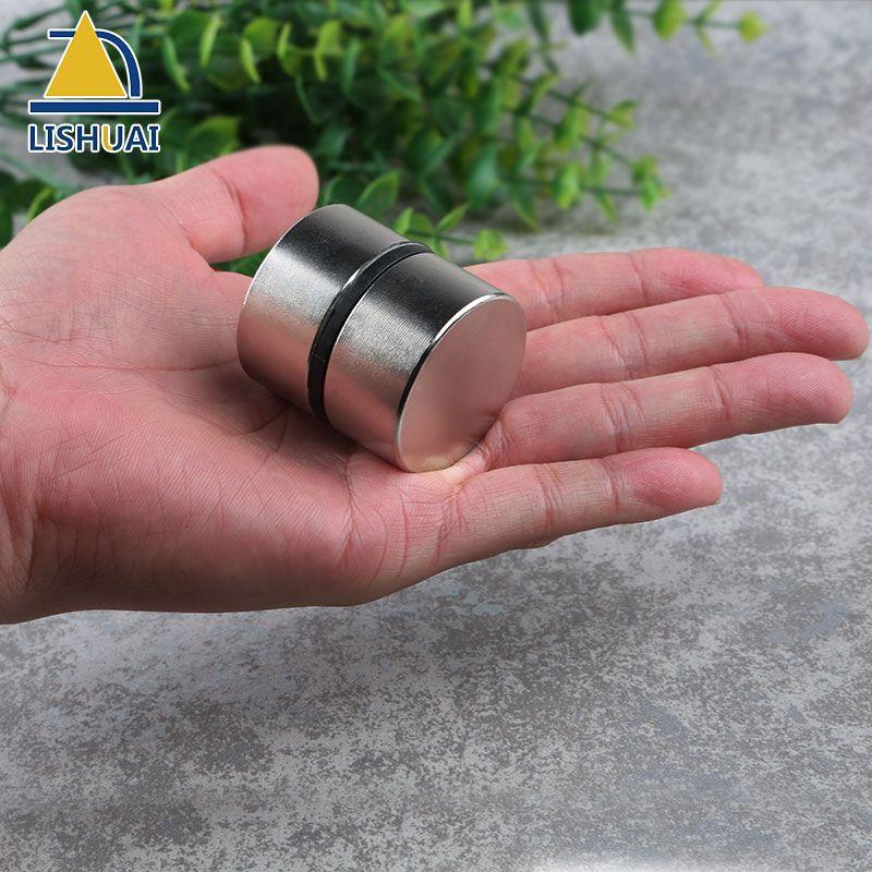 2pcs super powerful Dia 40mm x 20mm neodymium magnet disc magnet rare earth NdFeB N35 magnets