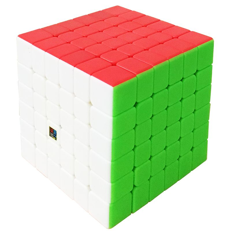 New Arrival of MoYu Cubing Classroom 6Layer MF6 6x6x6 Cube Black/Stickerless MF Puzzle Cube Toys For ChildrenMagicCubeMF8843