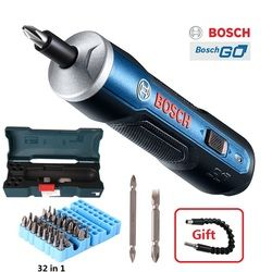 BOSCH GO Mini Electrical Screwdriver 3.6V lithium-ion Battery Rechargeable Cordless Power Drill with drill bits kits set