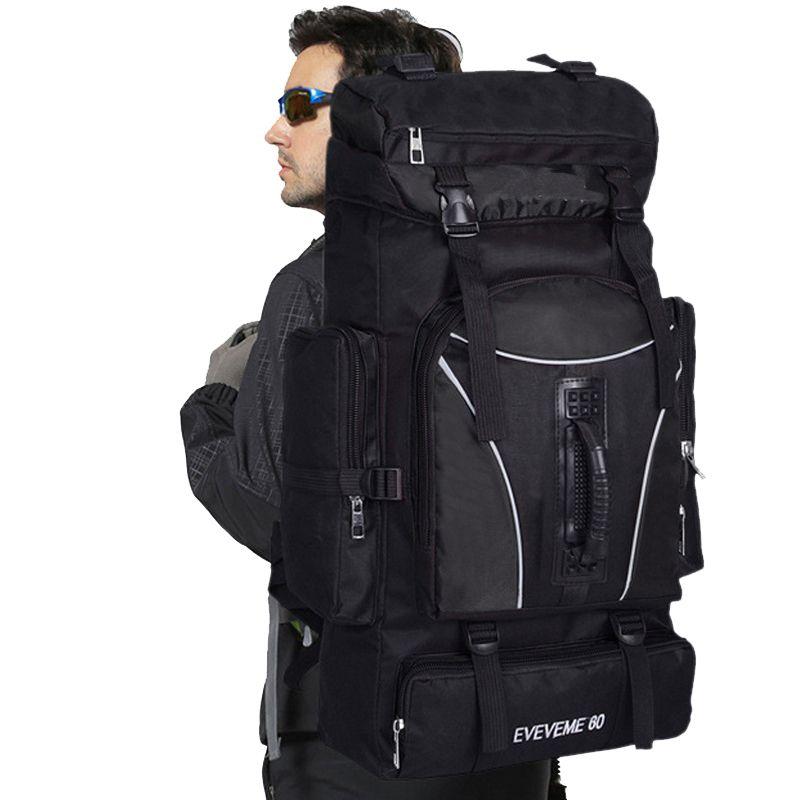 60L Outdoor Rucksack Unisex Travel mehrzweck Klettern Rucksäcke Wandern Big Kapazität Rucksäcke Camping Sport Taschen