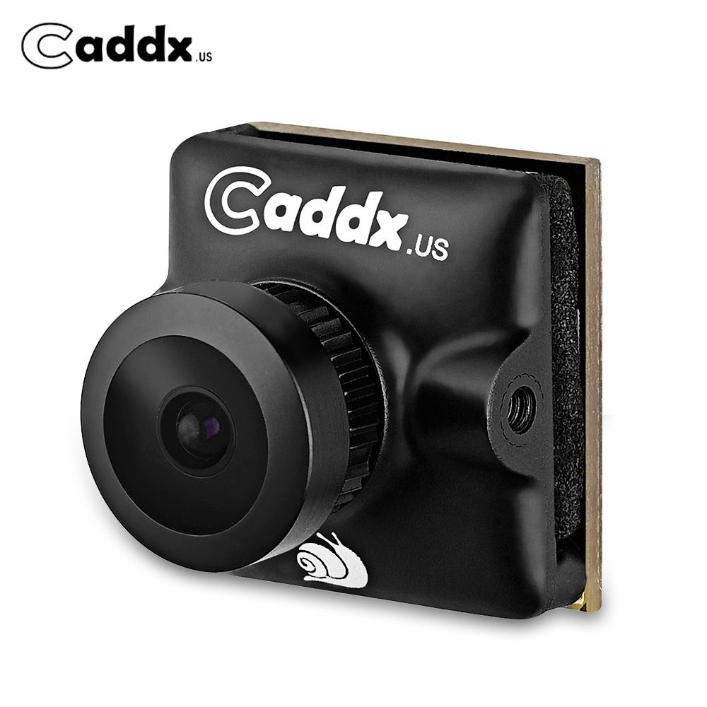 Caddx Turbo Micro SDR2 CAM 1/2.8 Inch CMOS 2.1mm Lens 1200TVL Low Latency WDR 16:9 / 4:3 FPV Camera for RC drone