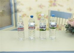 1:12 Scale  mineral water Dollhouse Miniature Toy Doll Food  Kitchen living room Accessories