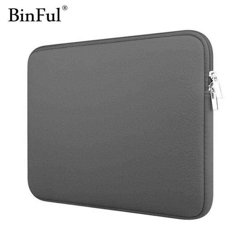 BinFul Neoprene laptop notebook case Women Men sleeve Computer Pocket 11