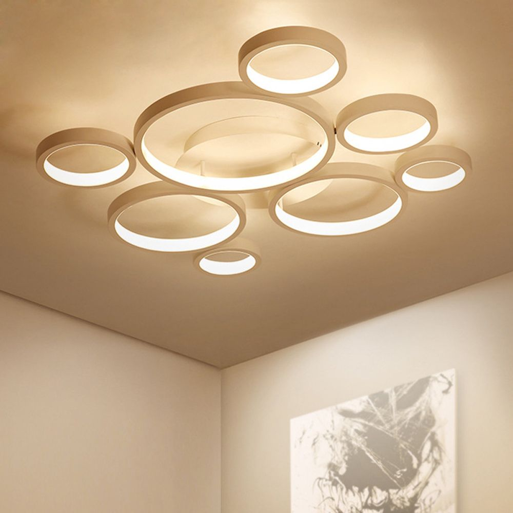 Moderne Decke Led Lampe Decke Lichter für Wohnzimmer Schlafzimmer Zimmer LED Licht Decke Dimmbar mit Fernbedienung Licht Leuchte
