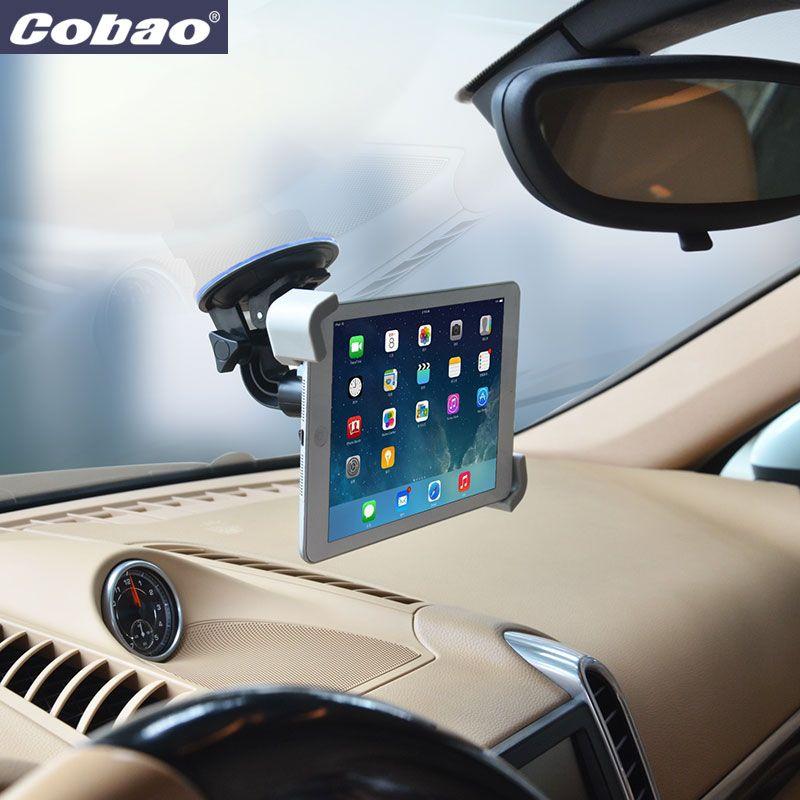 Новый 7 8 9 10 дюймов Планшеты Автомобильный держатель Универсальный Soporte Планшеты Desktop лобовое стекло автомобиля Колыбель для iPad Samsung вкладка ...