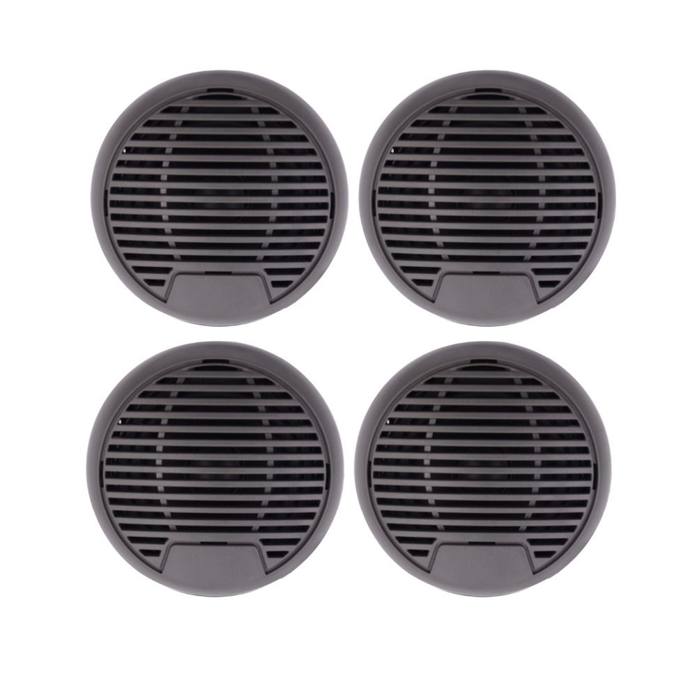 320watts 2Pairs 3'' Waterproof Marine speaker Outdoor Boat Speaker Watertight Motorcycle Speaker for HeavyDuty Tractor UV-Proof