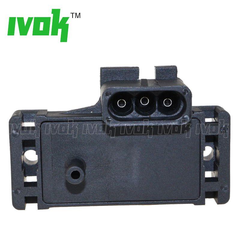100% Test 2Bar (2 Bar) MAP Sensor Turbo Boost For Opel Vauxhall Monterey Movano Omega A ISUZU 16040609 12569241 1238786