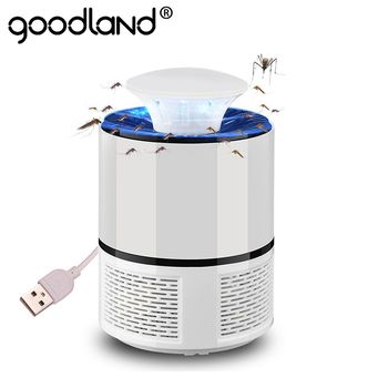 Goodland LED Mosquito Killer Lamp USB Anti Mosquito Electric Bug Zapper Silent Mosquito Trap For Outdoor Bedroom Insect Killer