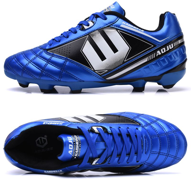 APTESOL Mens Kids Professional Outdoor FG Training Soccer Game Cleats Shoes Lawn Football Shoes Sport Sneakers Soccerway botas