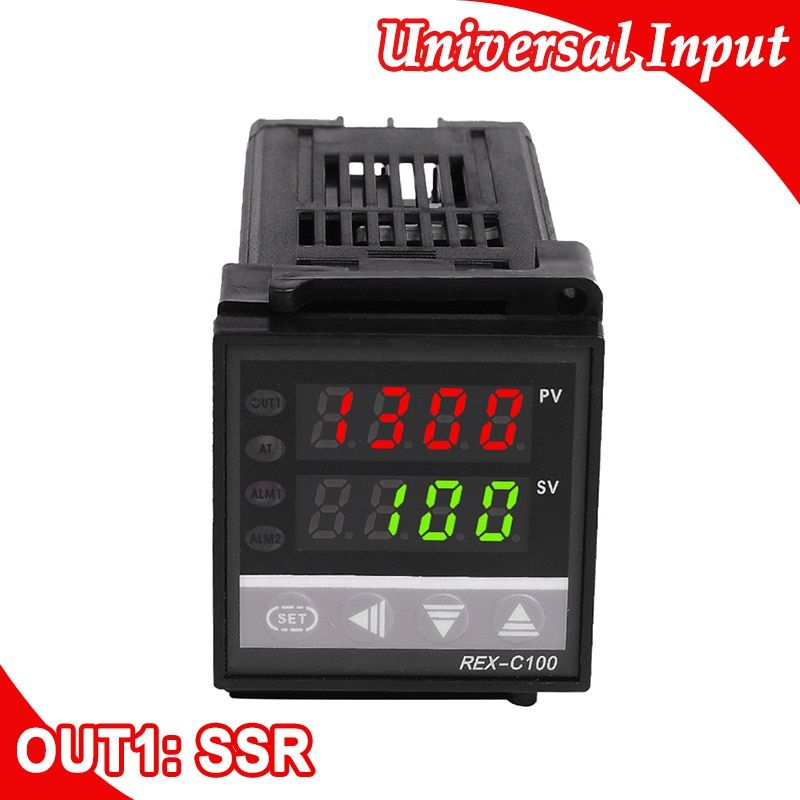 Contrôleur de température numérique PID 48*48mm entrée de Thermocouple, sortie SSR pour le chauffage ou le refroidissement dans la Machine à emballer