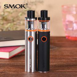 Smok Vape Pen 22 Kit Original Electronic Cigarette with 1650mah Battery No leaking Tank 0.3 ohm Dual Core vape kit