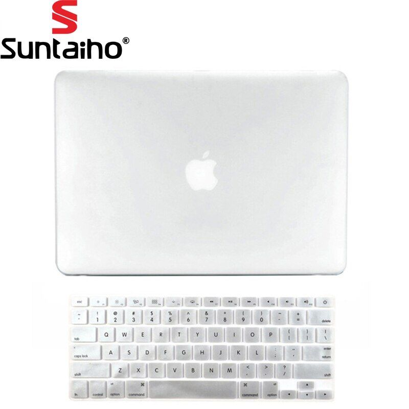 2016 NEUE Kristall Matte Frosted CaseCover Sleeve für MacBook Air 11 A1465 air 13 zoll A1278 pro 13 pro 15 A1286 retina 13 15 fall