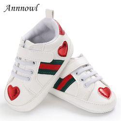 Zapato cuna bebé moda entrenadores de gancho y bucle las muchachas infantiles para 1 años suaves Niño tenis del muchacho divertido regalo Cristiano