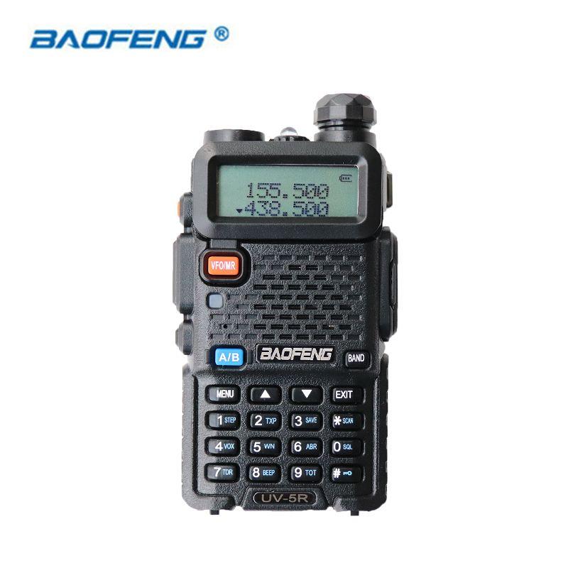Baofeng UV-5R Talkie Walkie Dual Band CB HAM Radio 2 Deux façon Portable Émetteur-Récepteur VHF UHF FM BF UV 5R Radios De Poche stéréo