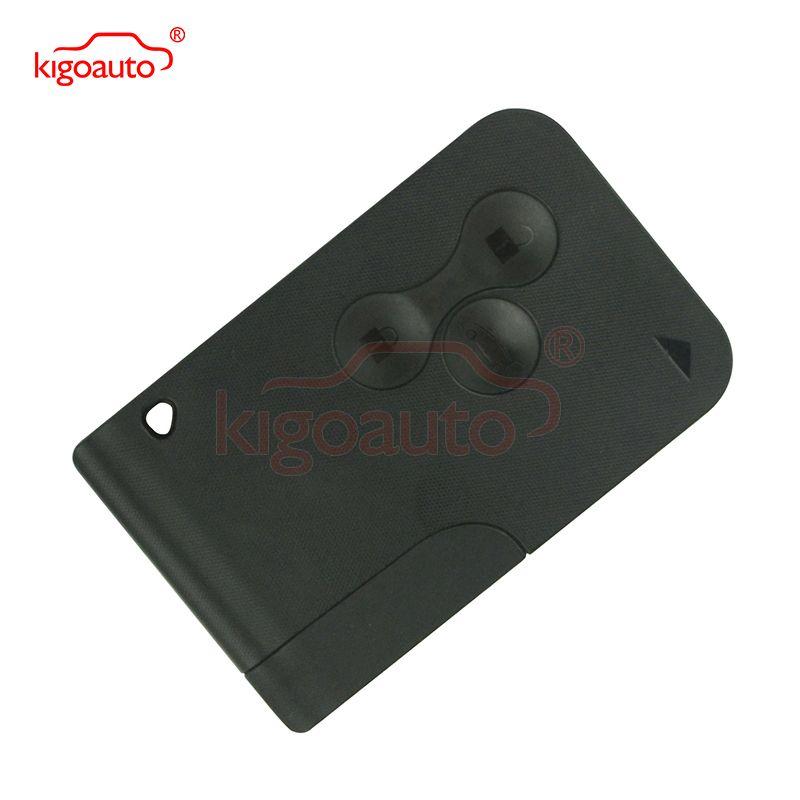 Carte-clé 434 Mhz pcf7947 puce ID46 3 bouton pour Renault Megane 2 Megane II intelligent à distance clé kigoauto