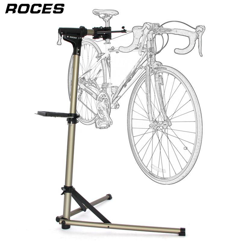 Aluminium Legierung Fahrrad Reparatur Stehen Professionelle Fahrrad Reparatur Werkzeuge Einstellbar Falten Bike Rack Halter Lagerung Fahrrad Reparatur Ständer