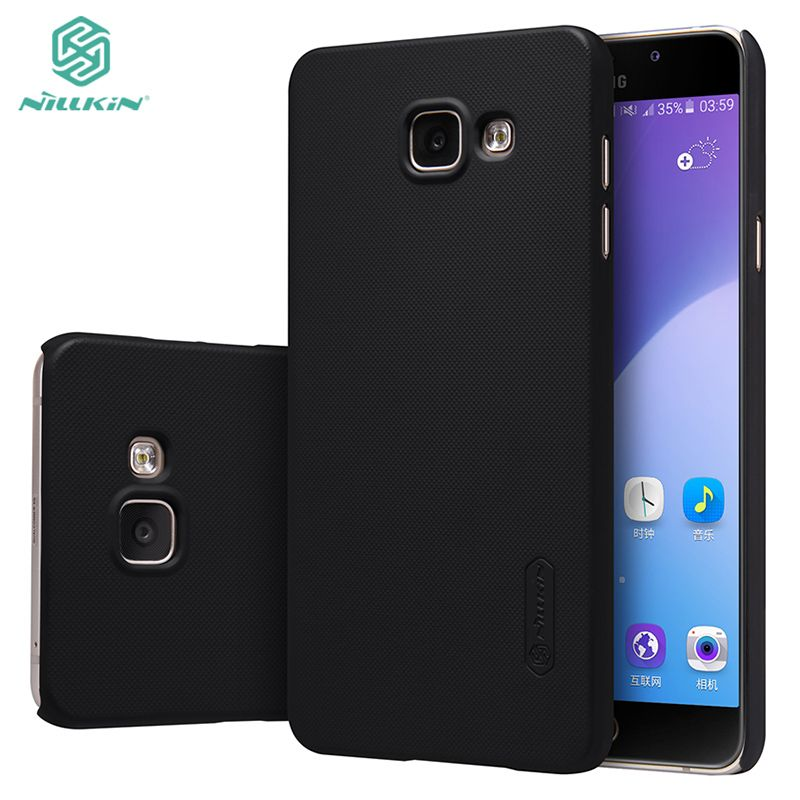 For Samsung galaxy A7 2016 cover case Original Nillkin Super Frosted Shield back case for samsung A710F with screen protector