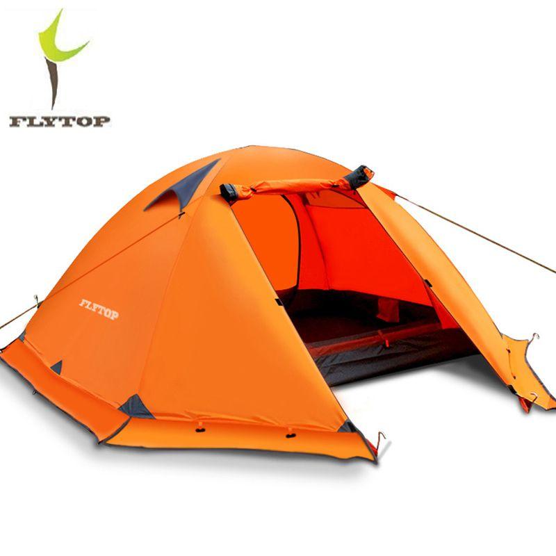 Camping ultra-léger randonnée tente 2 3 personnes 4 saisons en plein air récréation tente imperméable Double couches plage pêche tentes touristiques