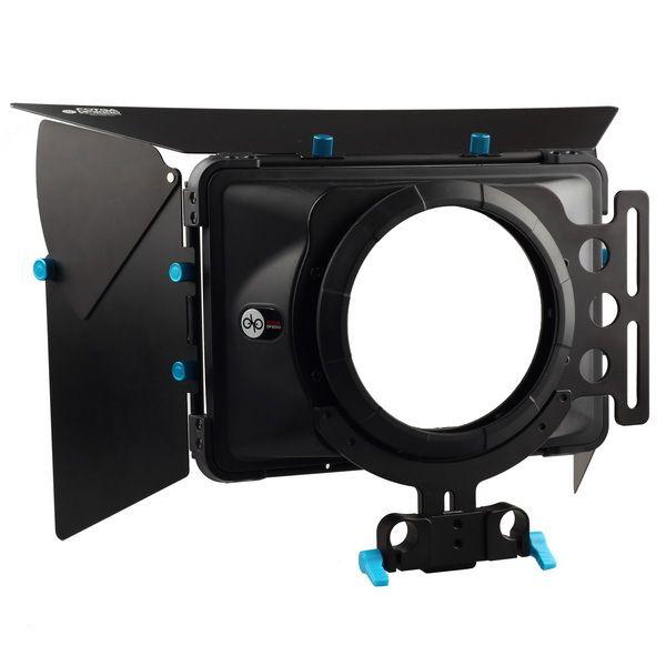 FOTGA DP3000 Pro DSLR matte box parasol w/beignets f 15mm de rail de rod rig 5D II III