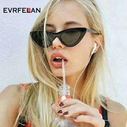 Новый кошачий глаз солнцезащитные очки Для женщин солнцезащитные очки модные женские Винтаж очки женский Треугольники пикантные ретро Ó...