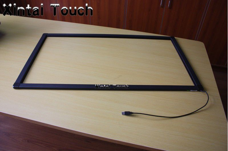 Free Shipping! 98 inch multi touch screen frame,10 points industrial IR touchscreen for monitor,98