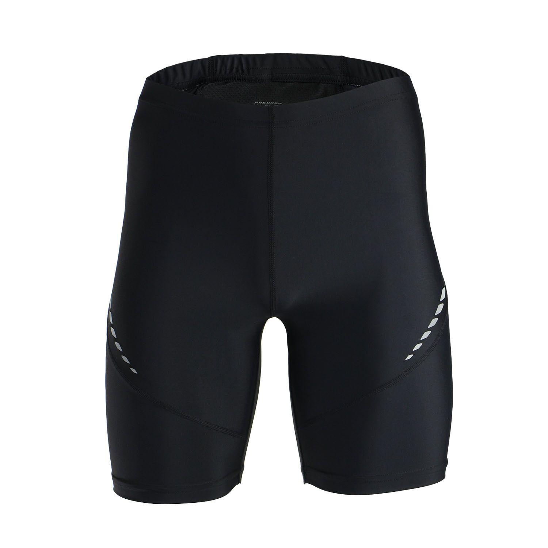 Pro collants de course pour hommes court réfléchissant séchage rapide élastique Leggings de sport Compression Gym Fitness Shorts pantalons de survêtement d'été