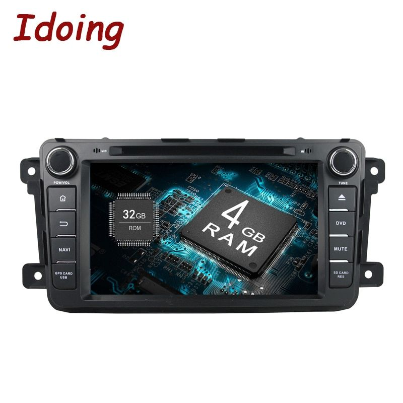 Idoing 2Din Android8.0 For Mazda CX9 Car DVD Player 8