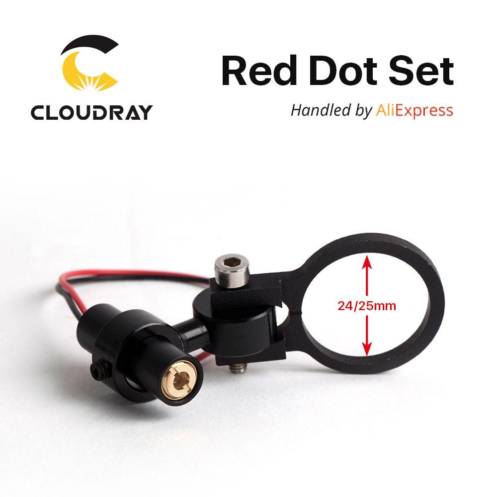 Diode Module Red Dot Set Positioning  DC 5V for DIY Co2 Laser Engraving Cutting Head