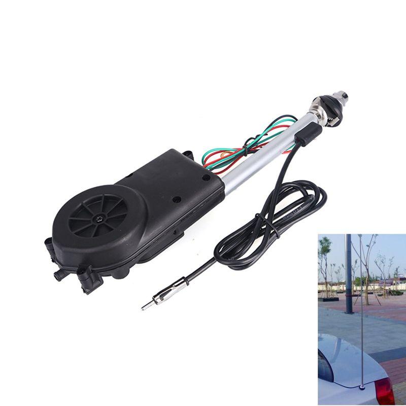 AM FM Radio Car Automatic Power Booster Antenna Mast kit  Auto Aerial For Mercedes Toyota Jeep Kia Vw Audi Ford Focus MK2 MK3