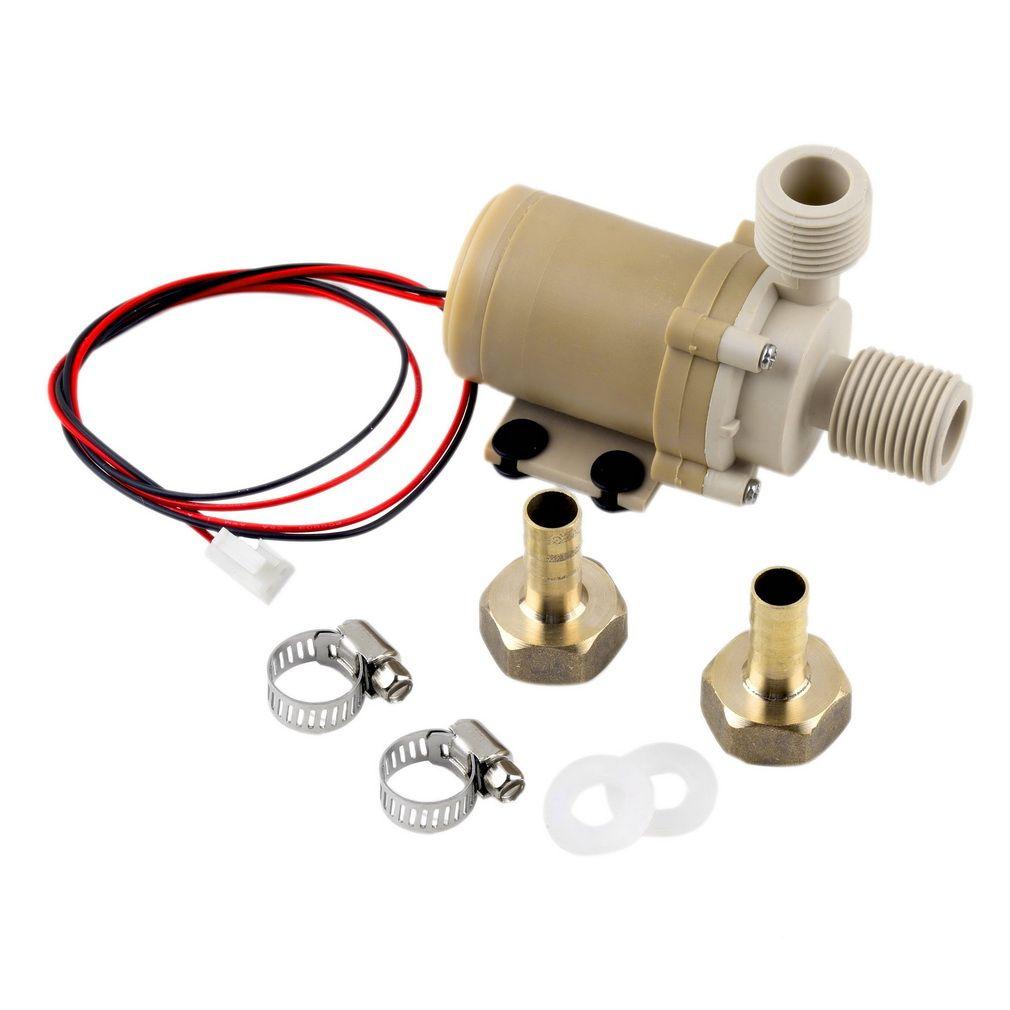 1 pc nouveau solaire DC 12 V 3 M pompe de Circulation d'eau chaude moteur Brushless pompe à eau dans le monde entier magasin