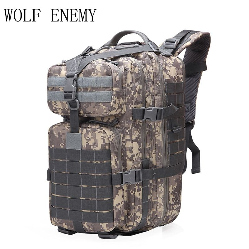 40L militaire tactique assaut Pack sac à dos armée 3D étanche Bug Out sac petit sac à dos pour la randonnée en plein air Camping chasse