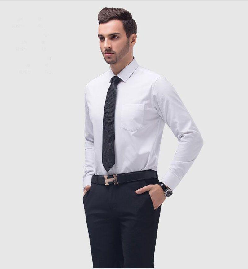 2017 Vente Chaude Blanc Noir Bleu Hommes Chemise Marié Smokings Meilleur Homme de Garçons D'honneur Hommes Chemises De Mariage Occasion Formelle Hommes Chemises