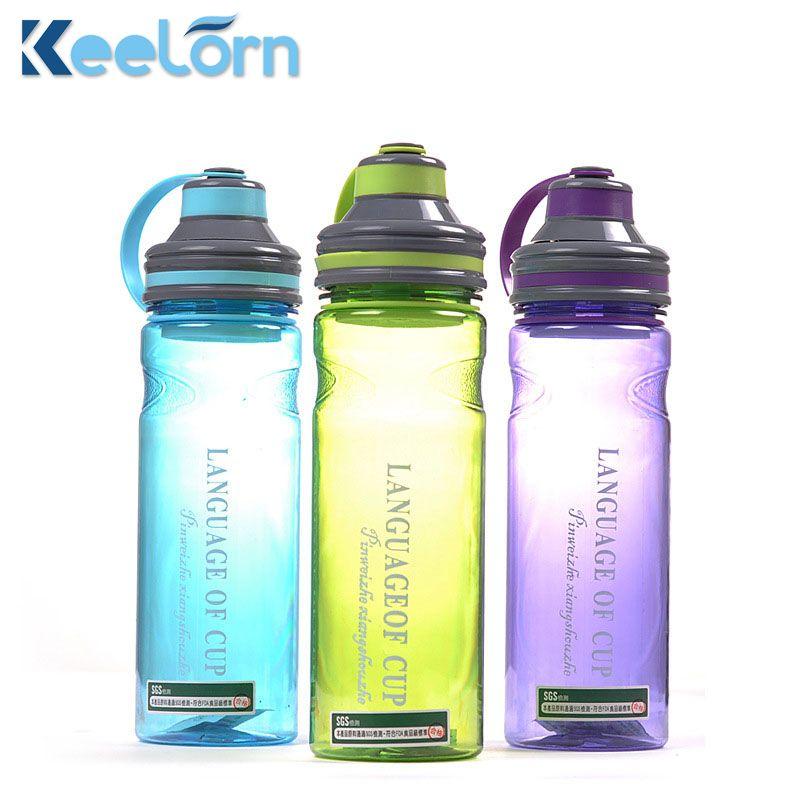 Keelorn 280 ml 1000 ml Creative 3 couleur mon portable espace bouteilles d'eau avec boule à thé de haute qualité style sport bouteille