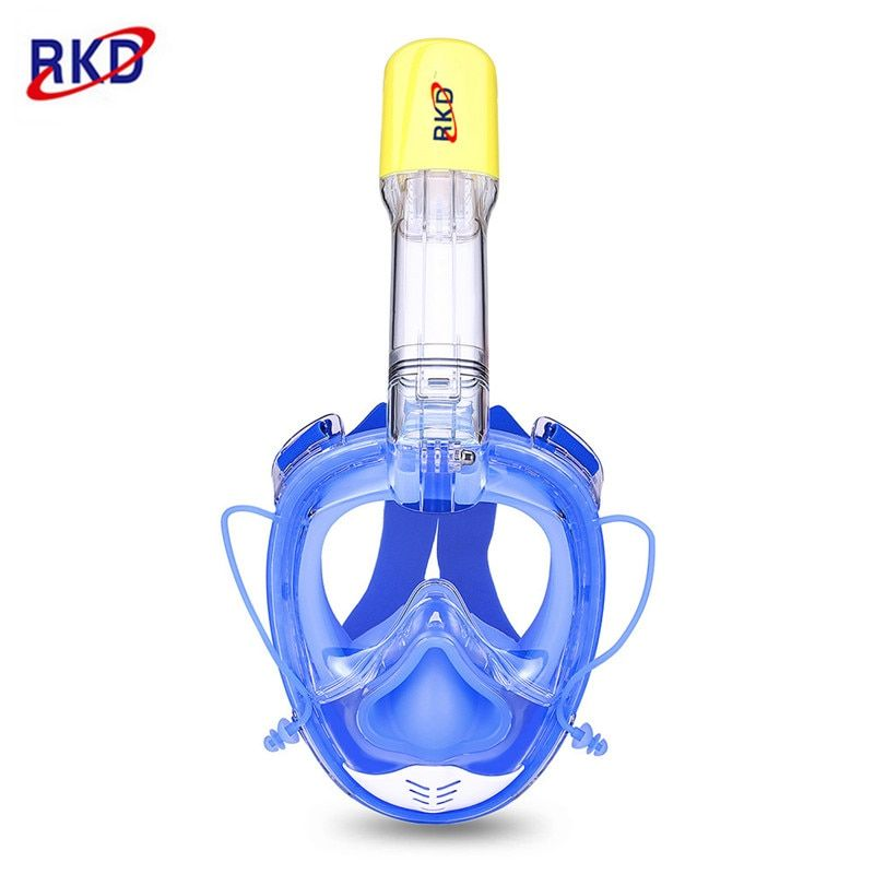 2017 New 2nd Generation RKD Diving Mask Underwater Scuba Anti Fog Full Face Diving Mask Snorkeling Set with Anti-skid Ring Snork