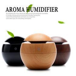 USB Ultrasonic Humidifier LED Aroma Diffuser Difusor De Aroma Essential Oil Diffuser 130ML Aromatherapy Mist Maker