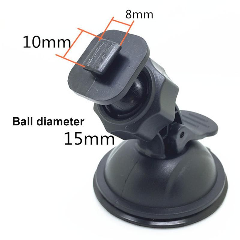 T type Car dvr Mount Holder DVR Recording Bracket Driving Video Mini Camera Holders Sucker in dash and windscreen LR20