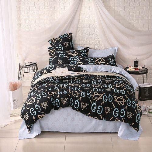 Unihome polyester microfiber Duvet Cover Set 1pc Duvet Cover 1pc Bed Sheet Set 2pcs Pillowcase Full/Queen/King Size Bedding Set