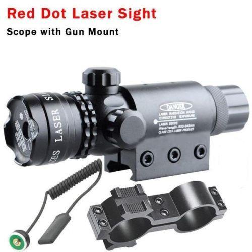 Pour 9-23mm tuyau tactique Laser aluminium vert point rouge portée de visée Laser pour chasse fusils pistolet de poing