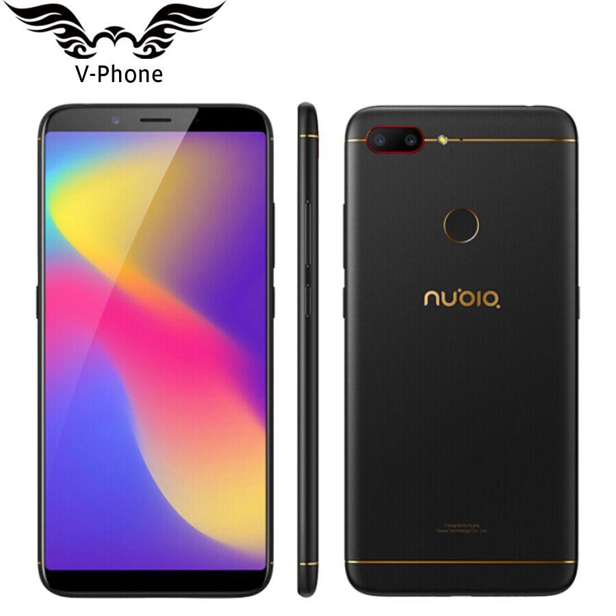 Original ZTE Nubia N3 4G LTE Mobile Phone 4GB RAM 64GB ROM 6.01inch Octa Core 5000mAh Dual Rear Camera Android OTG Smart Phone