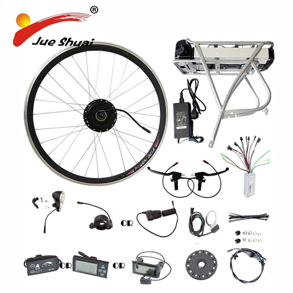 Hinten Rack Samsung 36 v 48 v Lithium-Batterie 250 watt 350 watt 500 watt Motor Rad E bike Umwandlung kit LED LCD Display Elektrische Fahrrad Kits