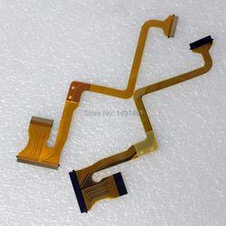 2*PCS LCD screen rodate shaft flex cable for JVC GZ-MS95 MS120 MS123 MS130, HM200 GZ-MS95SE HD320 Video Camera
