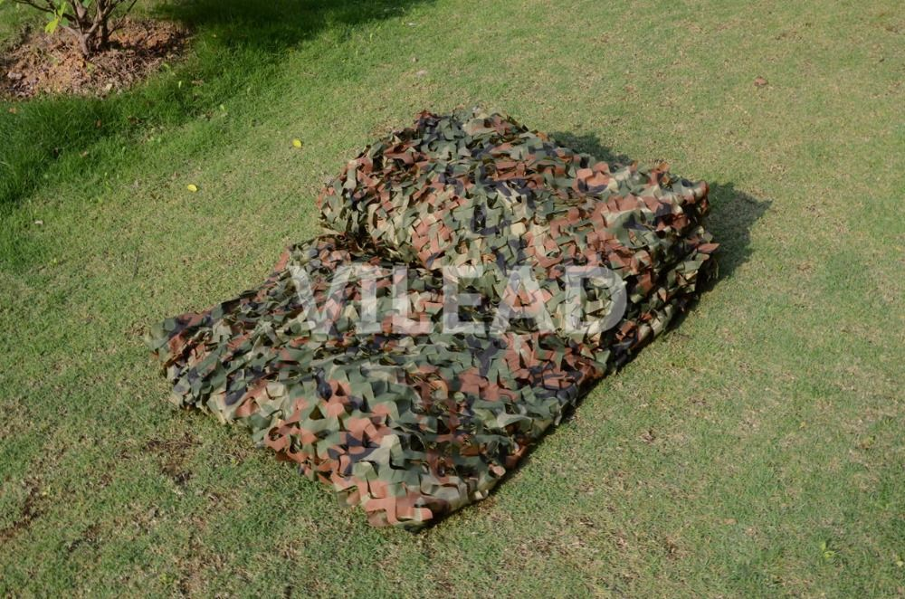 VILEAD 2M*4M Hunting Military Camouflage Net Woodland Army Camo Netting Camping Sun <font><b>Shelter</b></font> Tent Shade Net Car Covers Tent